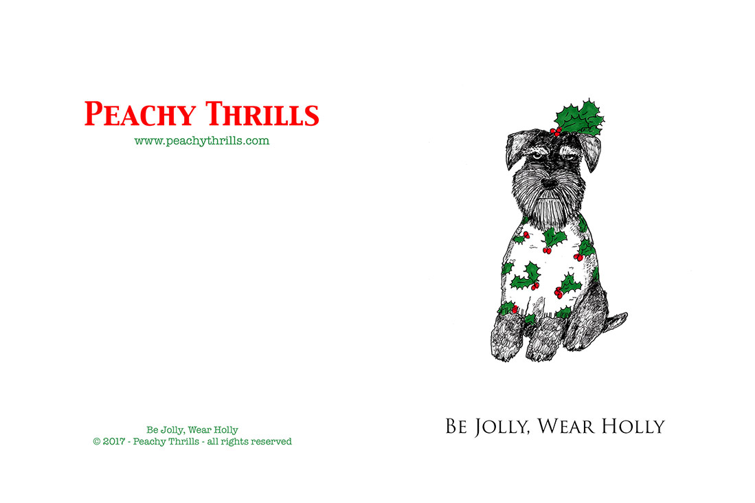 Be Jolly Wear Holly