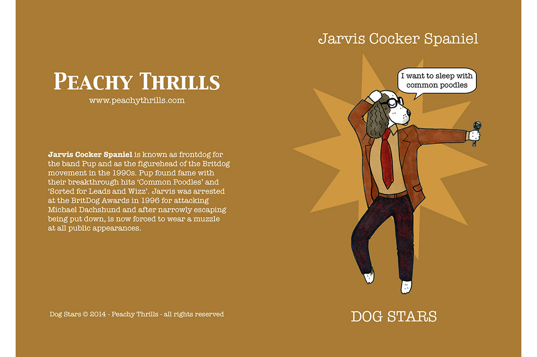 Jarvis Cocker Spaniel
