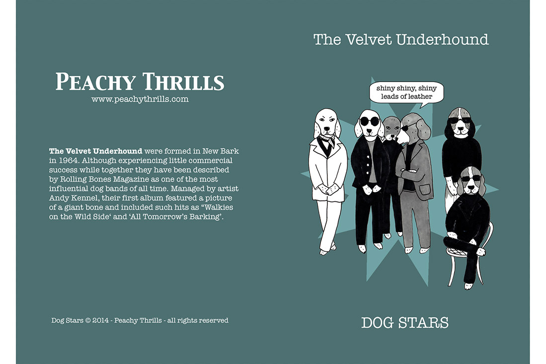 Velvet Underhound - Dog Stars