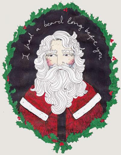 I had a beard long before you